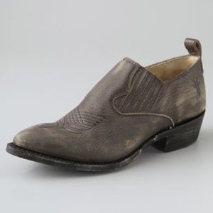 Frye Billy Shooties in Charcoal
